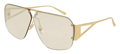 Bottega Veneta Gafas de Sol BV1065S Gold/Yellow 67/5/140 unisex