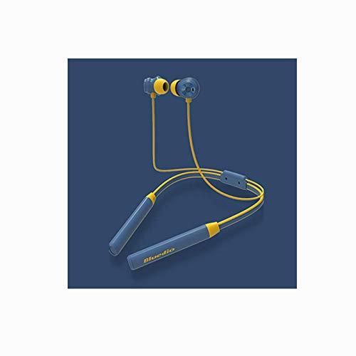 Auriculares magnéticos intrauditivos V4.2 con banda para el cuello, auriculares inalámbricos estéreo deportivos con cancelación de ruido, auriculares Bluetooth impermeables