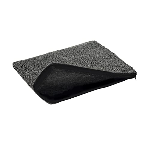 K&H Pet Products Small Animal Heated Pad Deluxe Replacement Cover Gray 9 x 12 (Heated Pad Sold Separately)