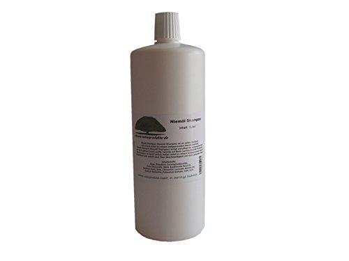Niemöl Shampoo (Neemöl Shampoo) 1 Liter Geschmeidigkeit und Glanz für strapazierte Haare von erlesene-naturprodukte