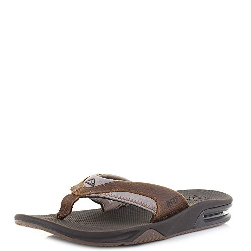 Reef Men's Sandals Leather Fanning