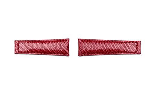 Correa de Lucertola compatible GMT/Daytona/Rolex/Oyster 20 mm rojo