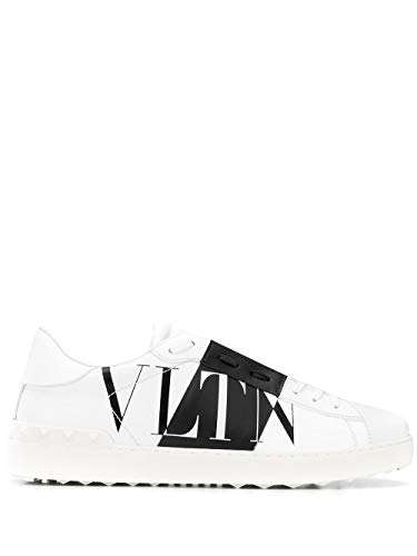Luxury Fashion | Valentino Heren TY2S0830PEXA01 Wit Leer Sneakers | Lente-zomer 20