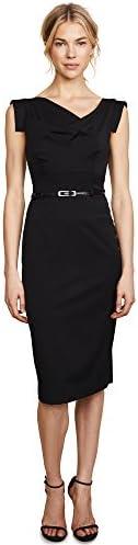 Black Halo Women s Jackie O Belted Dress Black 4 product image