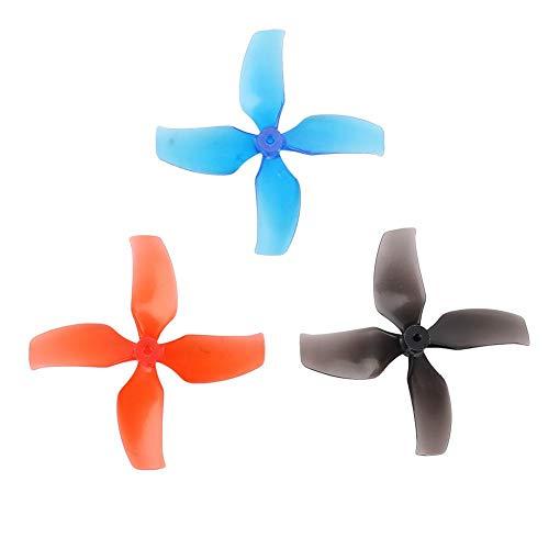 Lame per elica RC Drone, 10 Coppie 40mm 4 eliche compatibili con RC Tiny 7   7X   Snapper7   Mobula7   TRASHCAN Drone