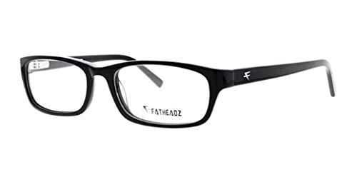 Fatheadz Wallstreet Bifocal Photochromic Large Reading Glasses (Black, 1.75)