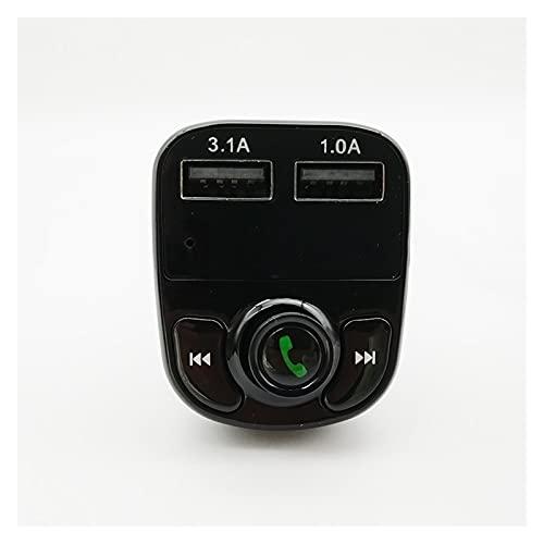 XIAO YANG Kit de Coche inalámbrico Manos Libres Bluetooth FM Transmisor LCD MP3 Jugador USB Cargador
