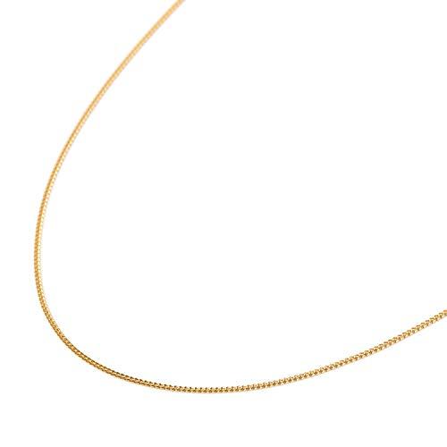 純金 喜平ネックレス 2面 1.9g 45cm 造幣局検定マーク刻印入 スライドアジャスター 引輪 メンズ レディース チェーン 24金 24k k24きへい キヘイ kihe