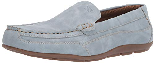 Tommy Hilfiger Men's Dathan Driving Style Loafer, Light Blue, 7