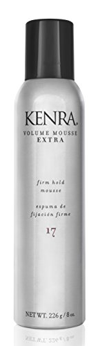Kenra Volume Mousse Extra 17 | Firm Hold Mousse | All Hair Types | 8 oz