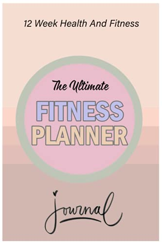 Notebook - The Ultimate Fitness Planner Journal 134: Weight Loss for Women 4_6in x 9in x 114 Pages White Paper Blank Journal with Black Cover Perfect Size