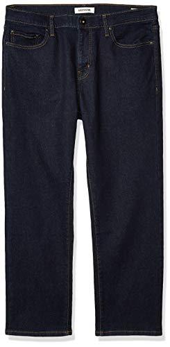 Goodthreads Straight-Fit Jean Jeans, Rinse/Dark Blue, 30W x 32L