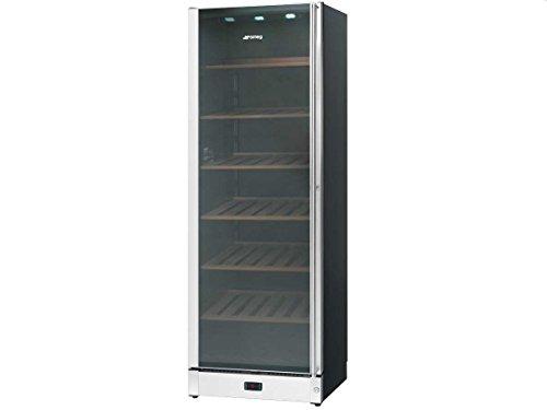 Smeg SCV115S-1 Stand Weinkühlschrank Weinklimaschrank Edelstahl Kühlgerät Linksanschlag