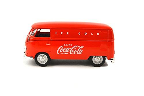 Coca-Cola 1/43 1962 Volkswagen Cargo Van- Rojo
