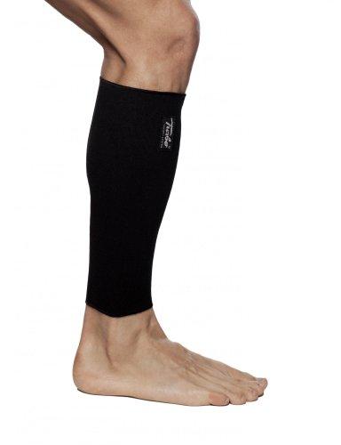 TURBO Med Wadenbandage Muskelfaserriss, zur Leistungssteigerung beim Sport und bei Thrombose-Neigung SCHWARZ Gr. M TM365-M9