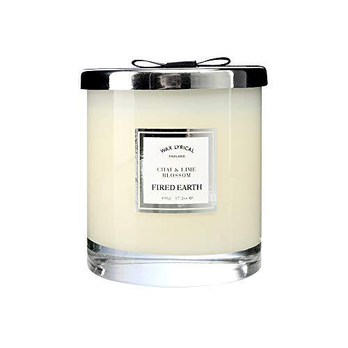 Wax LYRICAL kaars in glas, groot, met wasvulling Chai Lime Blossom