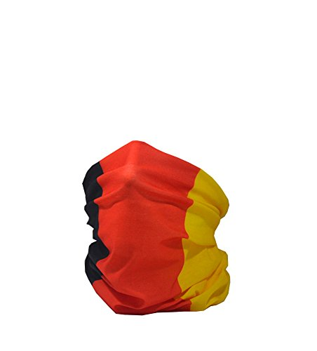Ruffnek Fahne Deutschland Bundes und Handelsflagge Multifunktionale Kopfbedeckung Halswärmer Herren Damen Kinder