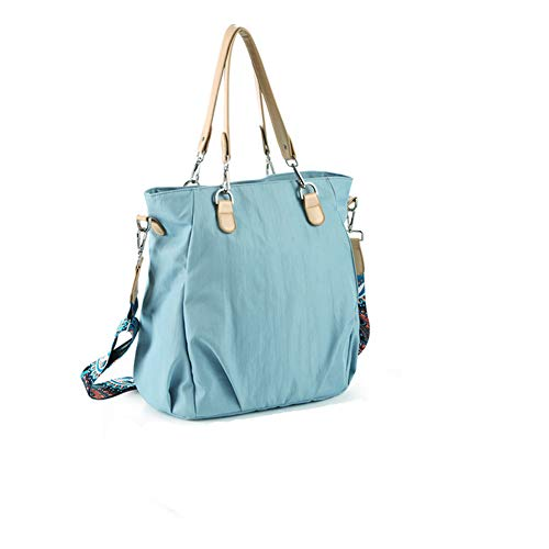 HLSUSAN Diaper Bag Backpack Multifunction Travel Baby Changing Bags Nappy Bag Maternity Rucksack Large Capacity, Waterproof,Blue