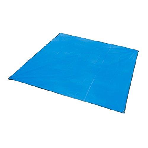 Azarxis Lona de Tienda de Campaña Ligera Impermeable Toldo Refugio Manta Estera Acampar al Aire Libre (Azul, 215 x 215 cm)
