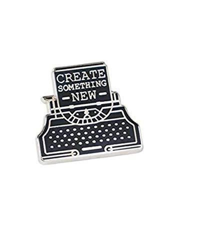 Scge Erstellen Sie etwas Neues Schreibmaschine Anstecknadel