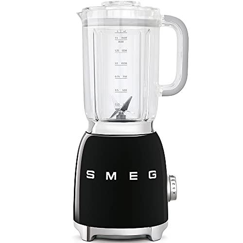 Smeg BLF01BLEU Mixer, schwarz