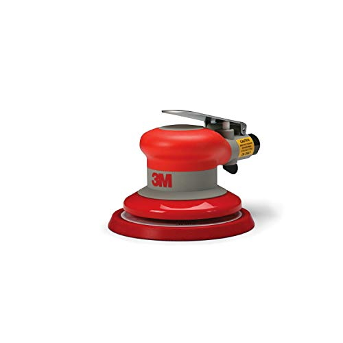 "3M Random Orbital Sander – Pneumatic Palm Sander – 5"" x 3/16"" Diam. Orbit – Stikit Disc Pad – For Wood, Composites, Metal – Original Series, 20317"