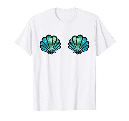 Meerjungfrau Muschel mermaid T-shirt