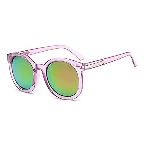 ShSnnwrl Gafas De Moda Gafas De Sol Gafas De Sol Ovaladas Vintage para Mujer Lentes De Gradiente De Puntos para Mujer Gafas De Sol Uv400 C2Purple