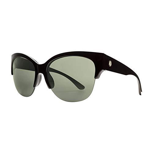 Electric Danger Cat Pro Womens Sunglasses One Size Gloss Black ~ Polar Grey+