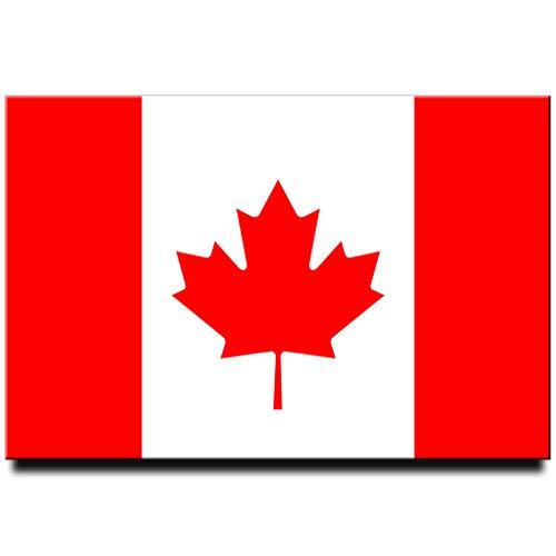 Canada Flag Fridge Magnet Ottawa Travel Souvenir Toronto