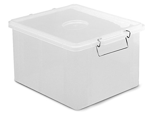 Giganplast Box Bac, Plastique, Transparent