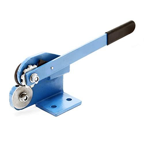 Rollenblechschere Blechschere, Blechstärke bis 1,5mm, Hebelrollenschere mit konstantem Blechvorschub
