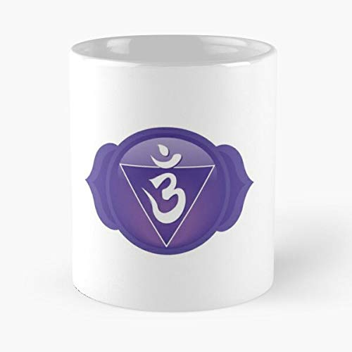 Ithird Eye Chakra Symbol - 11 Classic Mug Ounces Funny Coffee Gag Gift.the Best Gift For Holidays.