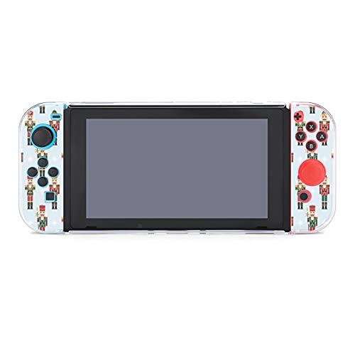 Hülle für Nintendo Switch Weihnachten Nussknacker Fünf Stücke Set Schutzhülle Case Kompatibel mit Nintendo Switch Spielekonsole