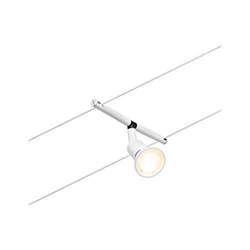 Paulmann 94445 Salt DC - Bombilla LED (10 W, ampliable, cable de alambre de plástico, GU5,3), color cromado mate