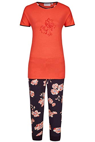 Ringella Damen Pyjama mit Caprihose Cayenne 44 0211221, Cayenne, 44