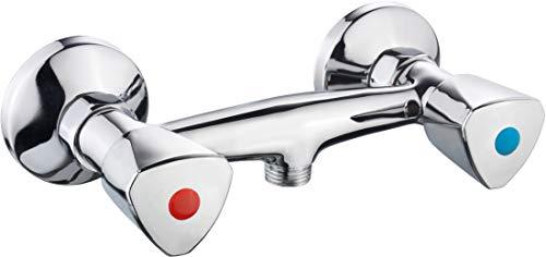 Cornat LI3 Grifo para ducha, 2 ruletas