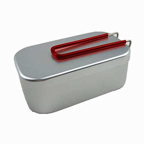 UKtrade Caja de almuerzo calentador de alimentos para niños portátil estudiante acero inoxidable contenedor de almacenamiento de alimentos