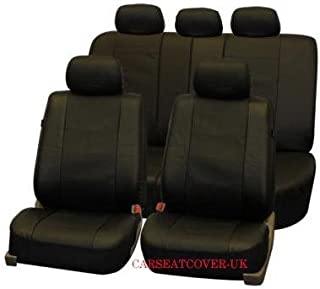Unitec Tuning 84953 Car Seat Cover Set Black