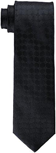 Joop! Herren 17 JTIE-06Tie_7.0 10004093 Krawatte, Schwarz (Schwarz 001), 7 (Herstellergröße: ONE)