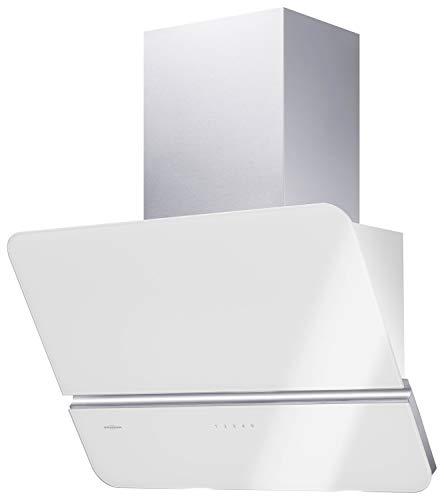 Oranier Signa 75 W - 8624 75 Kopffreihaube 75 cm Weiß Schrägesse Dunstabzug Wandesse