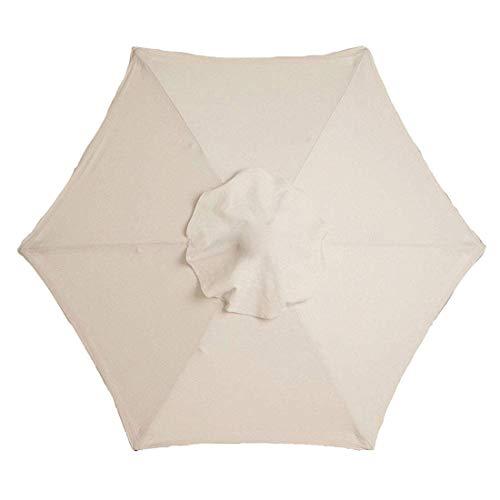 Modonghua Parasol impermeable y duradero para jardín, patio, de repuesto, toldo para mesa de mercado