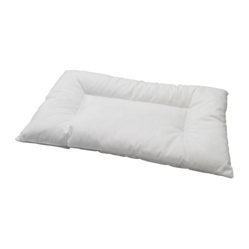 Ikea - Almohada para cabeza para niños len almohada para cuna en 35x55cm - lavable y conveniente