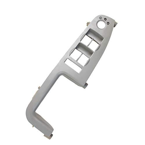 Toygogo Panel de Control de Interruptor de Ventana de Repuesto para Audi A4 B6 B7 - Gris