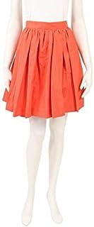 (ミュウミュウ) miu miu スカート オレンジピンク 中古