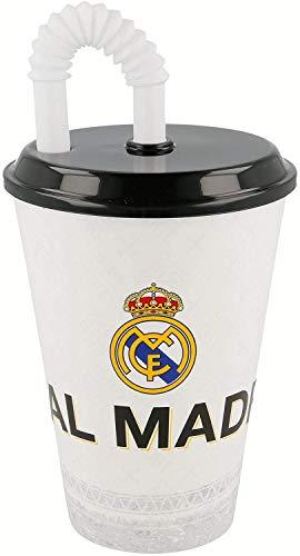 ALMACENESADAN 2327; Vaso de caña Real Madrid, Capacidad 430 ml ; Producto...