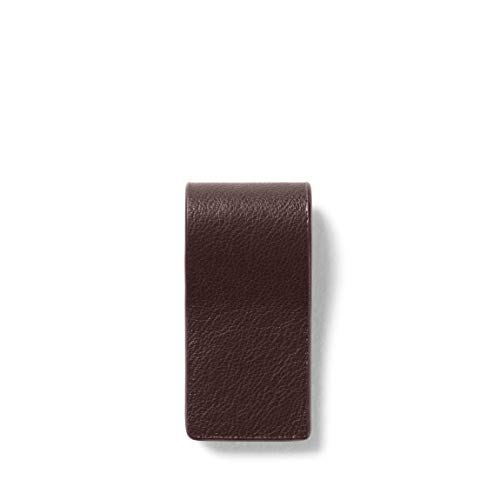 Leatherology Brown Magnetic Bookmark