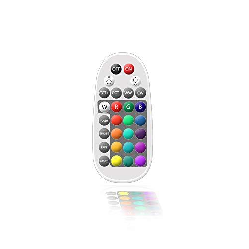 Bluetooth Mesh 28key LED Controller Fernbedienung Remote RGBW CCT-Farbtemperatur steuerbar Smart Steuerung Dimmer für BT Spotlight Licht