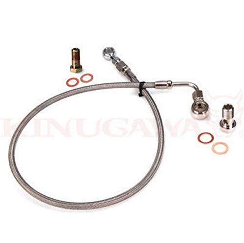 Kinugawa Turbo Oil Feed Line Kit For 4B11T Lancer EVO X 10 w/Stock TD05H & TD05HA