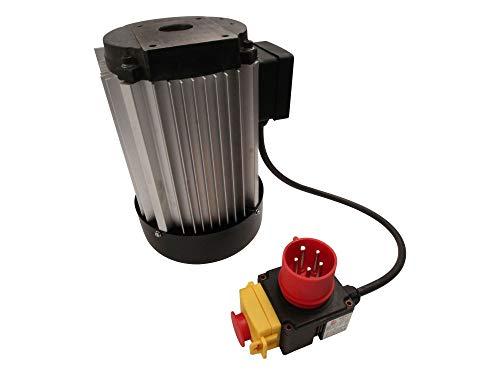 SECURA Elektromotor 400V + Schalter kompatibel mit Bulkston HSB 10-1300 Holzspalter